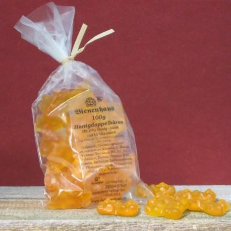 Honig - Gummi - Doppelbärchen
