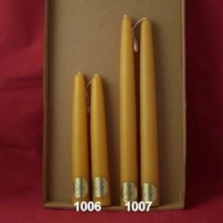 Tunkkerzen mit 2,8 cm Durchmesser ab