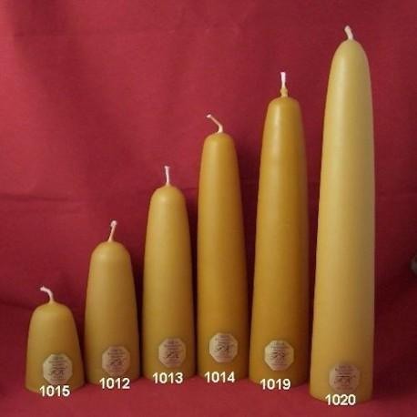 Tunkkerzen mit 6 cm Durchmesser ab