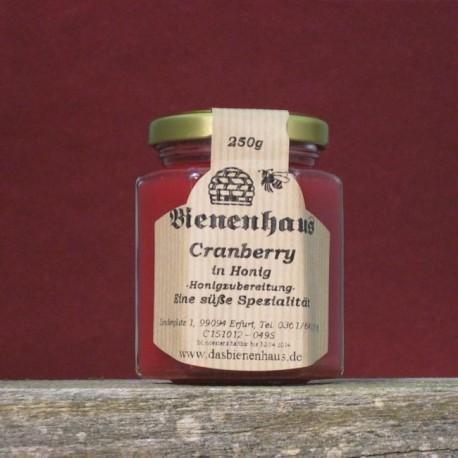 Cranberrys in Honig